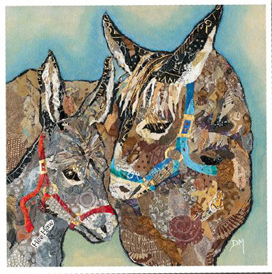 Dawn Maciocia Donkey Card
