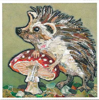 Dawn Maciocia Hedgehog card
